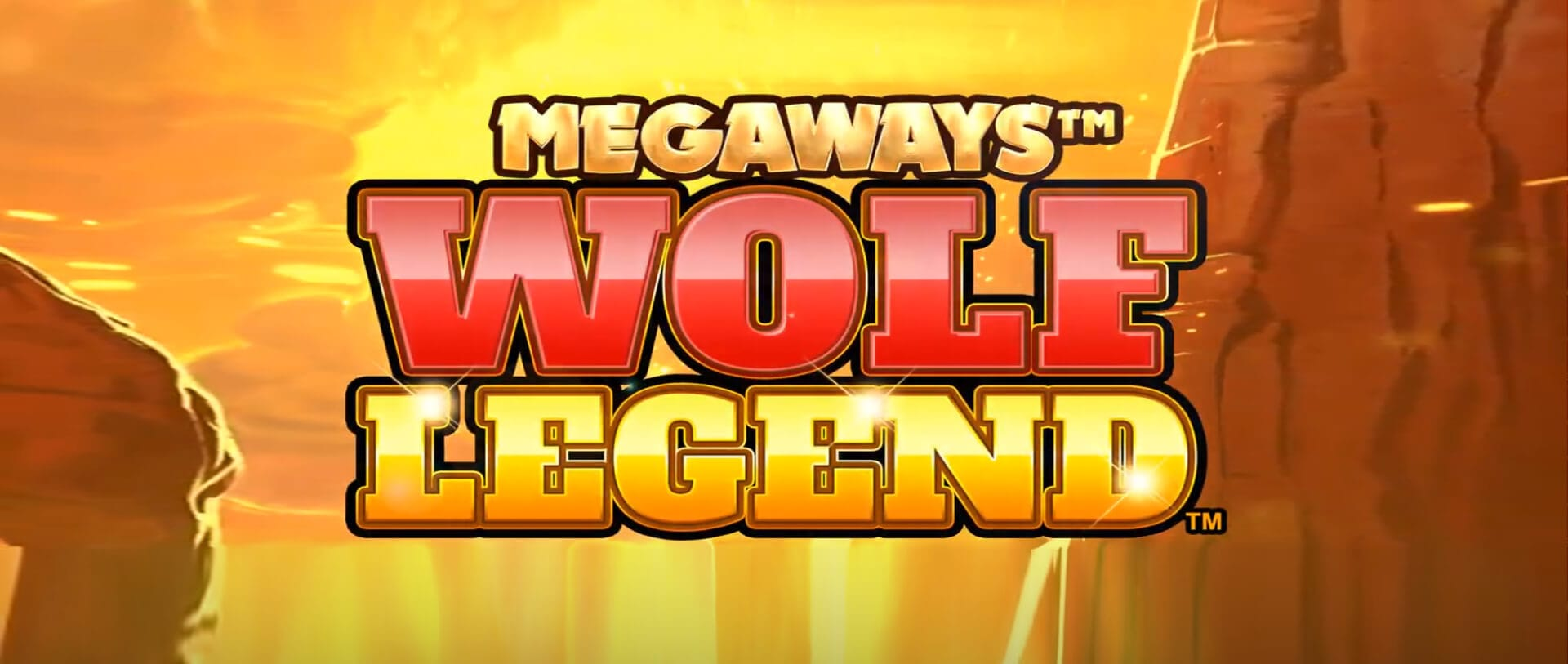 Wolf Legend Megaways Slot Logo