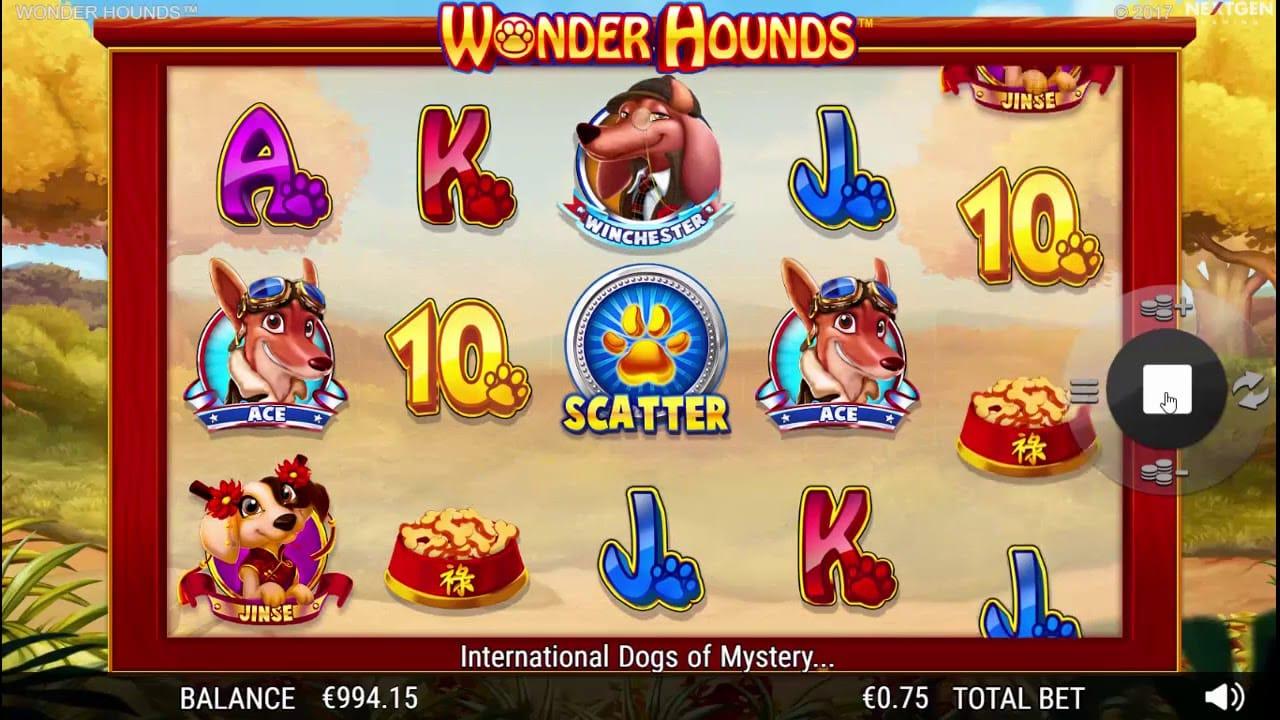 Wonder Hounds Slots Game