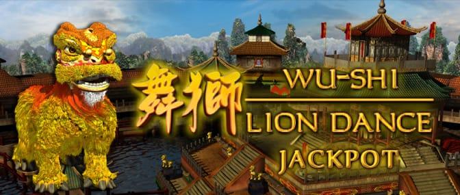 wu-shi lion dance slots mega reel