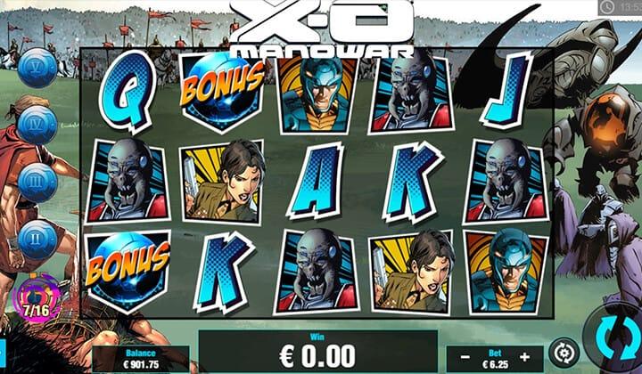 XO Manowar slots