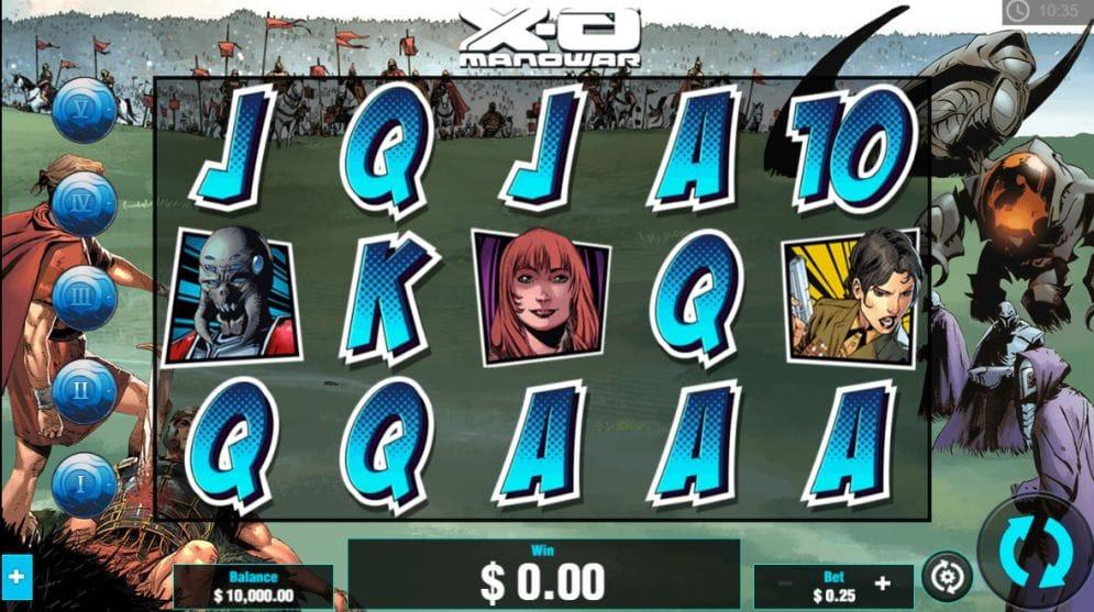 XO Manowar slot