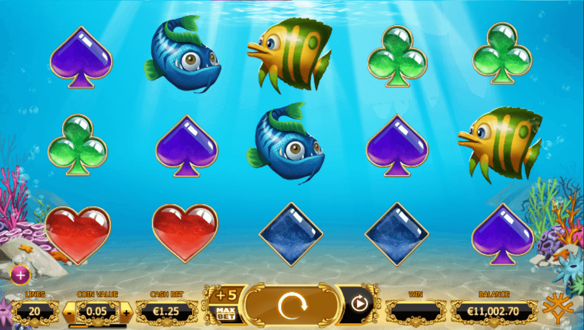 Golden Fishtank UK Slot Game Play