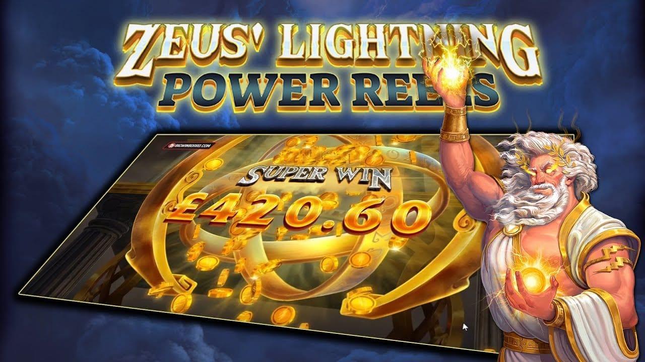 Zeus Lightning Slots Mega Reel