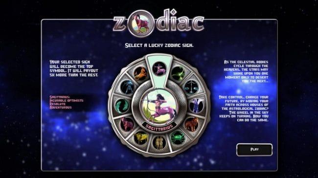 Zodiac Slots Bonus